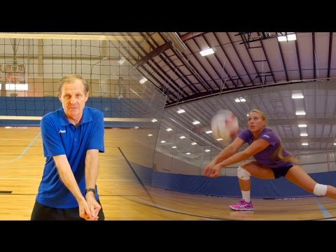 How to pass a volleyball - Terry Liskevych - The Art of Coaching Volleyball