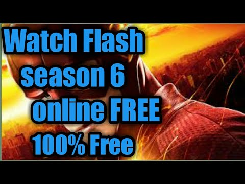 How To Watch Flash Season 6 Episodes On Tv For Free
