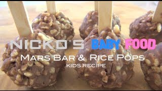 MARS BAR & RICE POPS - Kids Recipe Thumbnail
