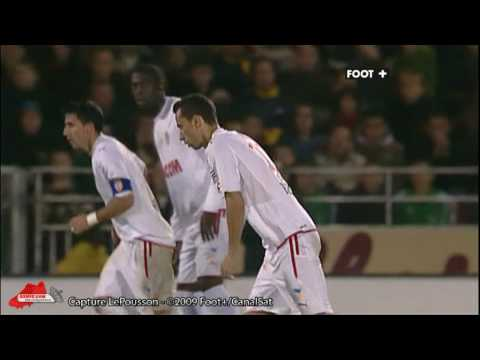 [2009/2010] 2009/10/24 10R AS Monaco 3-1 Boulogne Nene freekick goal 1