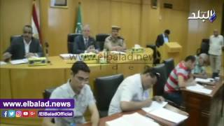 بالفيديو .. محافظ المنيا يضع منهجية للعمل خلال أول مجلس تنفيذي