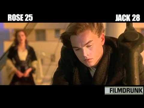 Titanic Supercut: Jack & Rose Say Each Others' Names. A Lot.