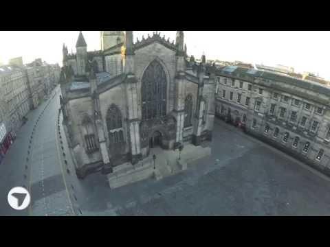 St Giles' Cathedral, Edinburgh .... Breathtaking Sunrise