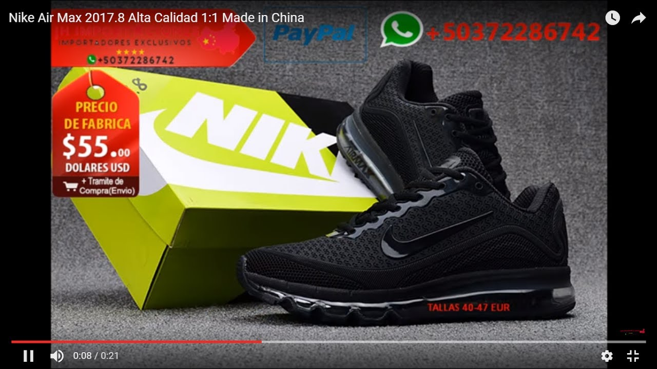 Nike Air Max 2017.8 Alta Calidad 1:1 Made in China