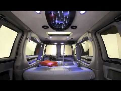 Galaxy Van Luxury Top End Vehicle Conversion Van Custom Interior NICE!!    YouTube