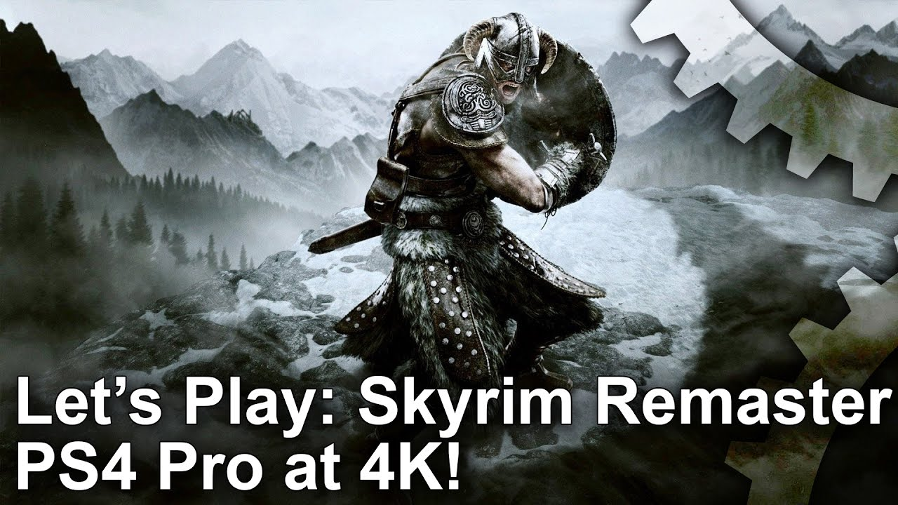 Skyrim on PS4 Pro runs at native 4K - but there's a catch