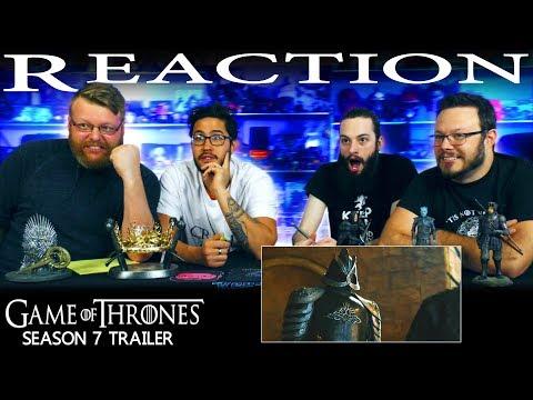 Game of Thrones Season 7: Official Trailer REACTION!!