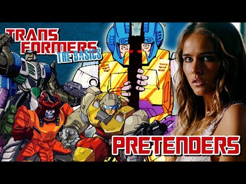 TRANSFORMERS: THE BASICS on PRETENDERS
