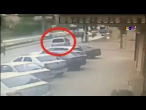 Sancaktepe patlama anı güvenlik kamerasında SON DAKİKA bomba yüklü araç