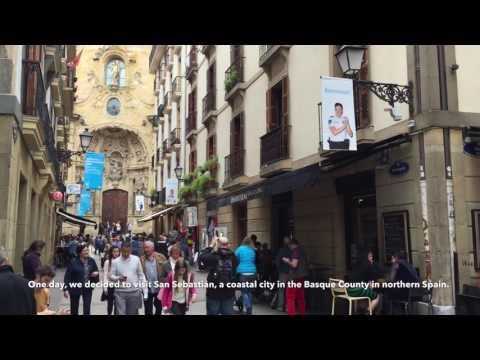 San Sebastián, the pintxos capital of Basque Autonomous Region, Northern Spain.