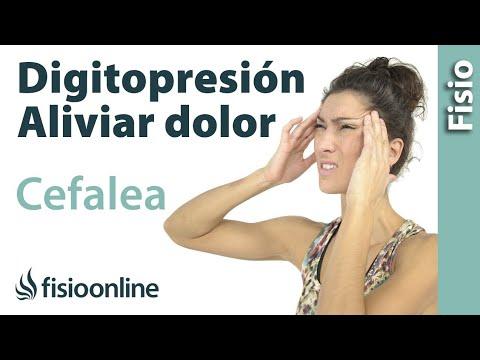 Lóbulo frontal alivio de la migraña