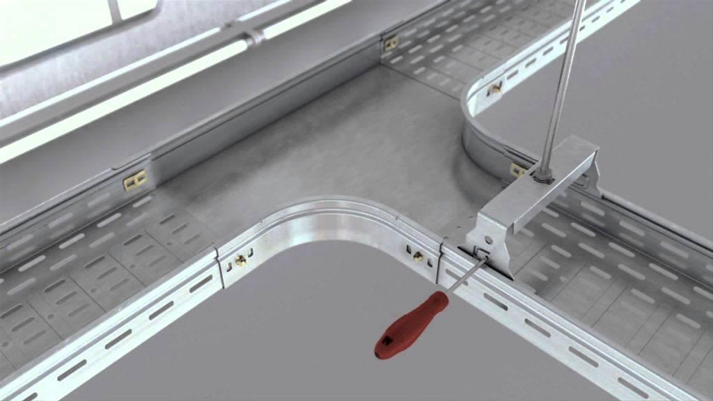 p31 syst me de chemin de c bles youtube. Black Bedroom Furniture Sets. Home Design Ideas
