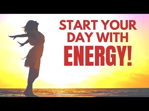 Start Your Day With ENERGY   I AM Affirmations   Morning Motivation Wake Up Music