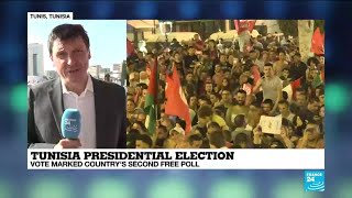 Conservative professor Saied wins Tunisia presidential election, exit polls say