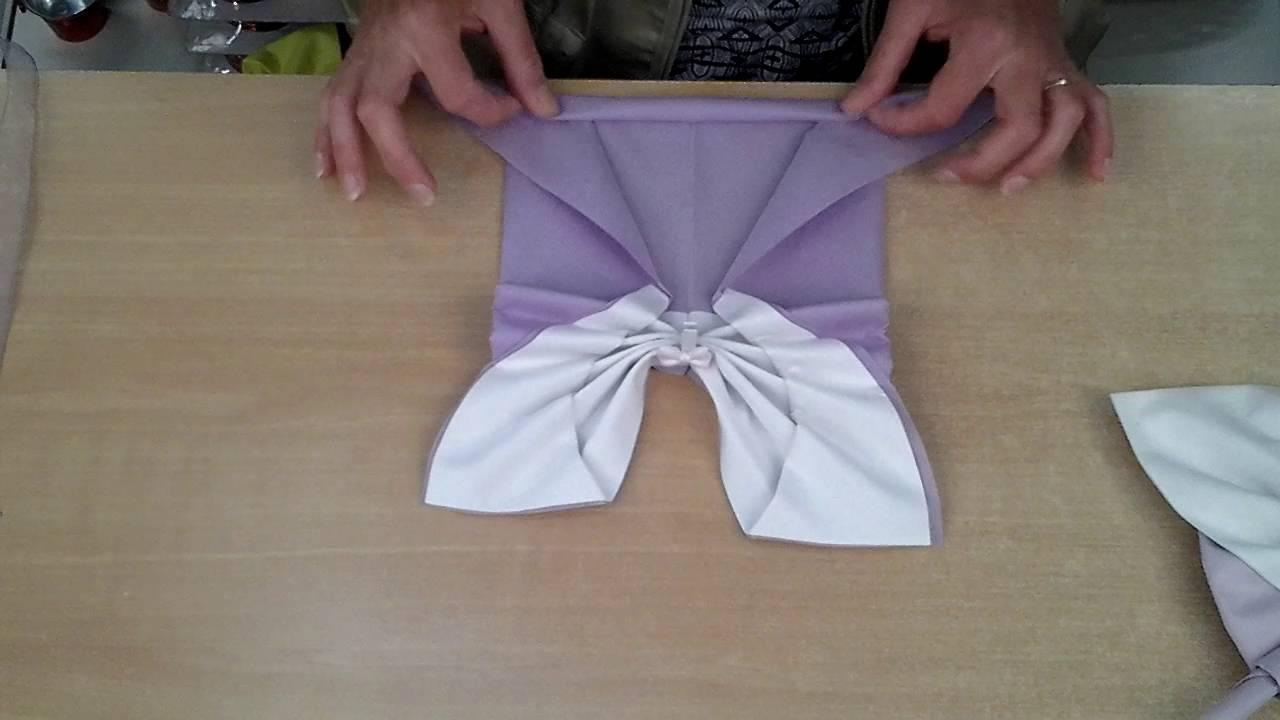 Le Papillon Pliage De Serviettes Etalmag