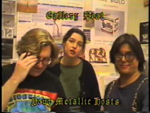 Gallery Beat TV - the '90's from 1993 mixtape of the Soho art scene. New York.