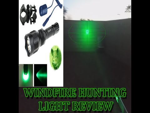 WINDFIRE GREEN 350 LUMENS HUNTING LIGHT [REVIEW]