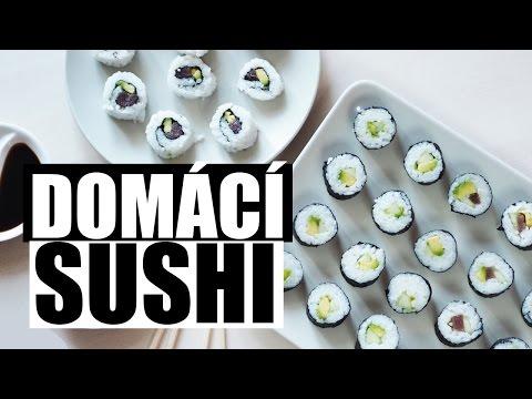 Vynikající domácí sushi