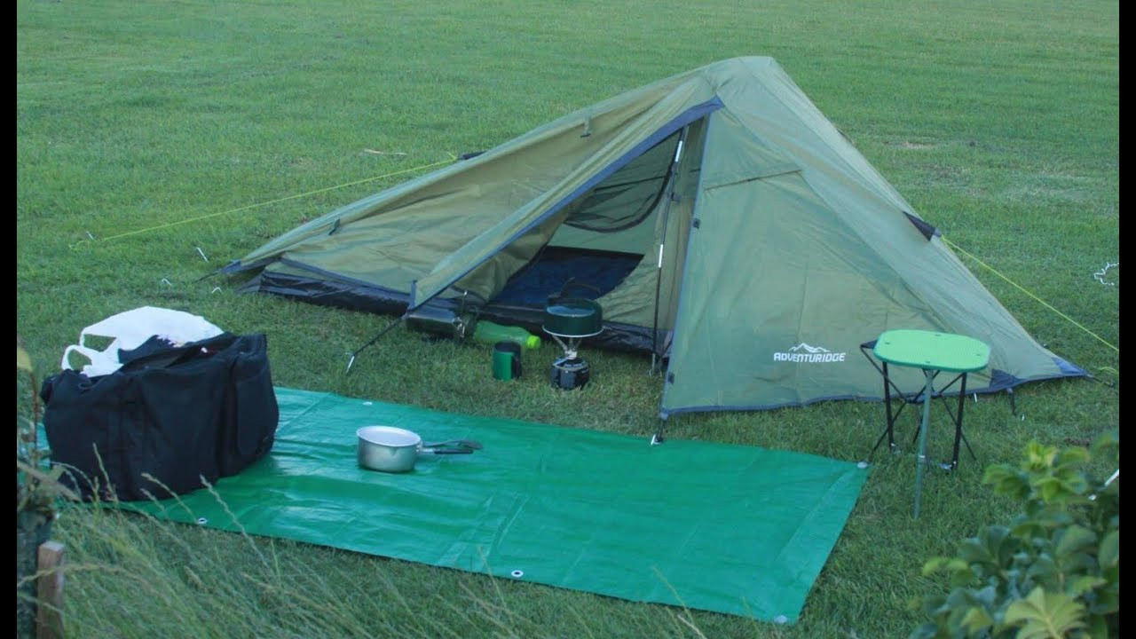& Aldi Adventuridge Tent Camp Out - YouTube