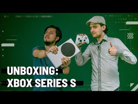 Unboxing: Xbox Series S, la Xbox más pequeña jamás creada | BitMe