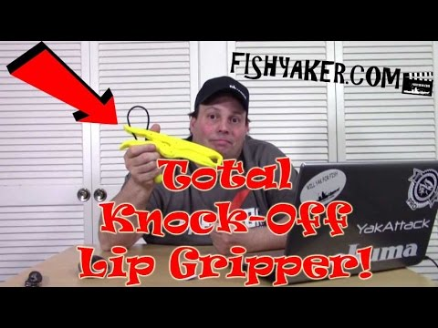 Total Knock-Off $4.59 Chinese Fishing Lip Gripper: Episode 463