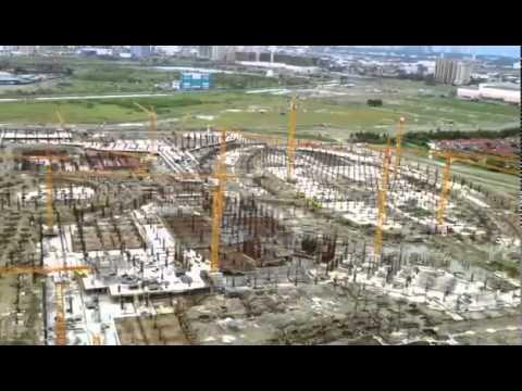 OKADA's MANILA BAY RESORTS & CASINO in Entertainment City Manila   Aug  1, 2013 Update
