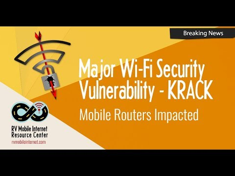 KRACK - Major Wi-Fi Security Vulnerability Revealed, Mobile Routers Impacted