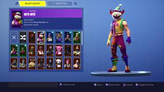 SHOWS ALL MY SKINS AND STATS! | FORTNITE ENGLISH
