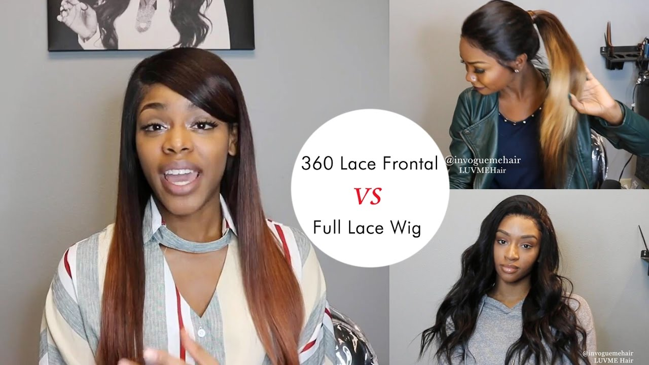 360 Lace Frontal Vs Full Lace Wig How To Choose Luvme