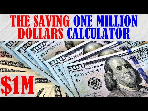 The Saving 1 Million Dollars For Retirement Calculator