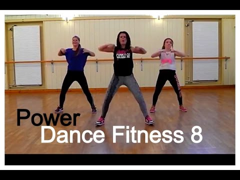 Dance Fitness Class 8 - High Energy!!