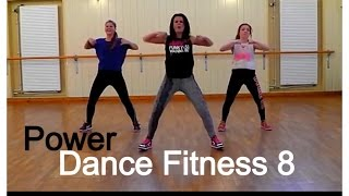 Dance Fitness Class 8 - High Energy!!