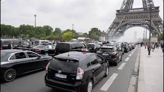 Opérations escargot des taxis (20 mai 2019, Paris)