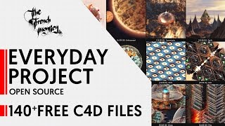 �������� ���� 140+ Free Cinema4D Files // Open Source // Everyday's Project ������