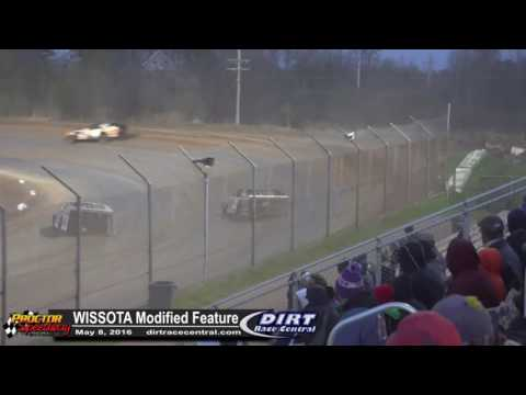 Proctor Speedway 5/8/16 WISSOTA Modified Highlights