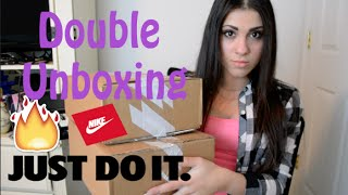 Double Unboxing from Nike