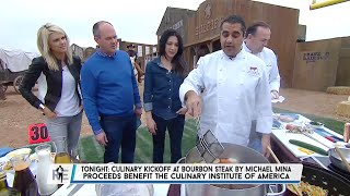 Cooking with Chef Michael Mina, Chef Charlie Palmer & Michelle Branch on The RES - 1/29/15
