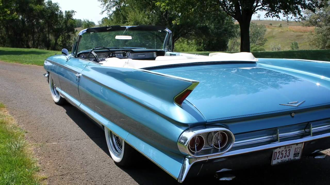 1961 Cadillac Convertible - YouTube