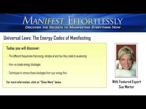 Universal Laws: The Energy Codes of Manifesting