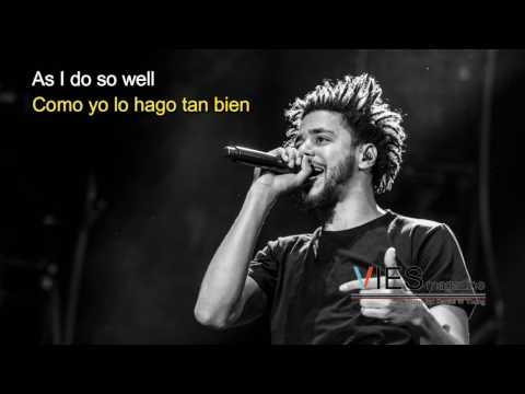 J. Cole - Wet Dreamz lyrics (Sub. Español)