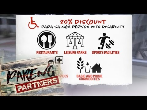 Pareng Partners: Benefits and privileges for persons with disabilities in the Philippines