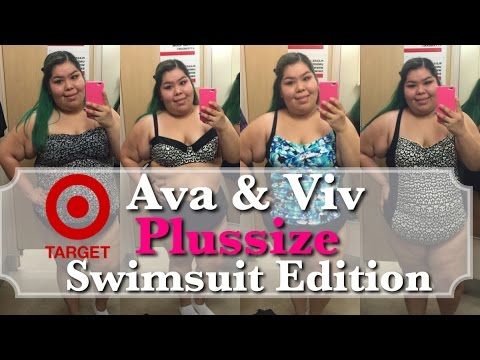 4750529d2b05b Target s 2016 Ava   Viv Plussize SWIMSUITS  Inside The Dressing Room ...