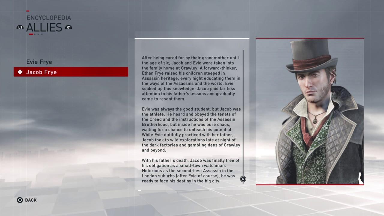 Assassins Creed Syndicate Jacob Frye Story Youtube