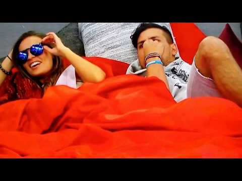 Kaitlyn, Faysal, Brett & Haleigh Getting Flirty In HOH Room - Big Brother 20 Live Feeds