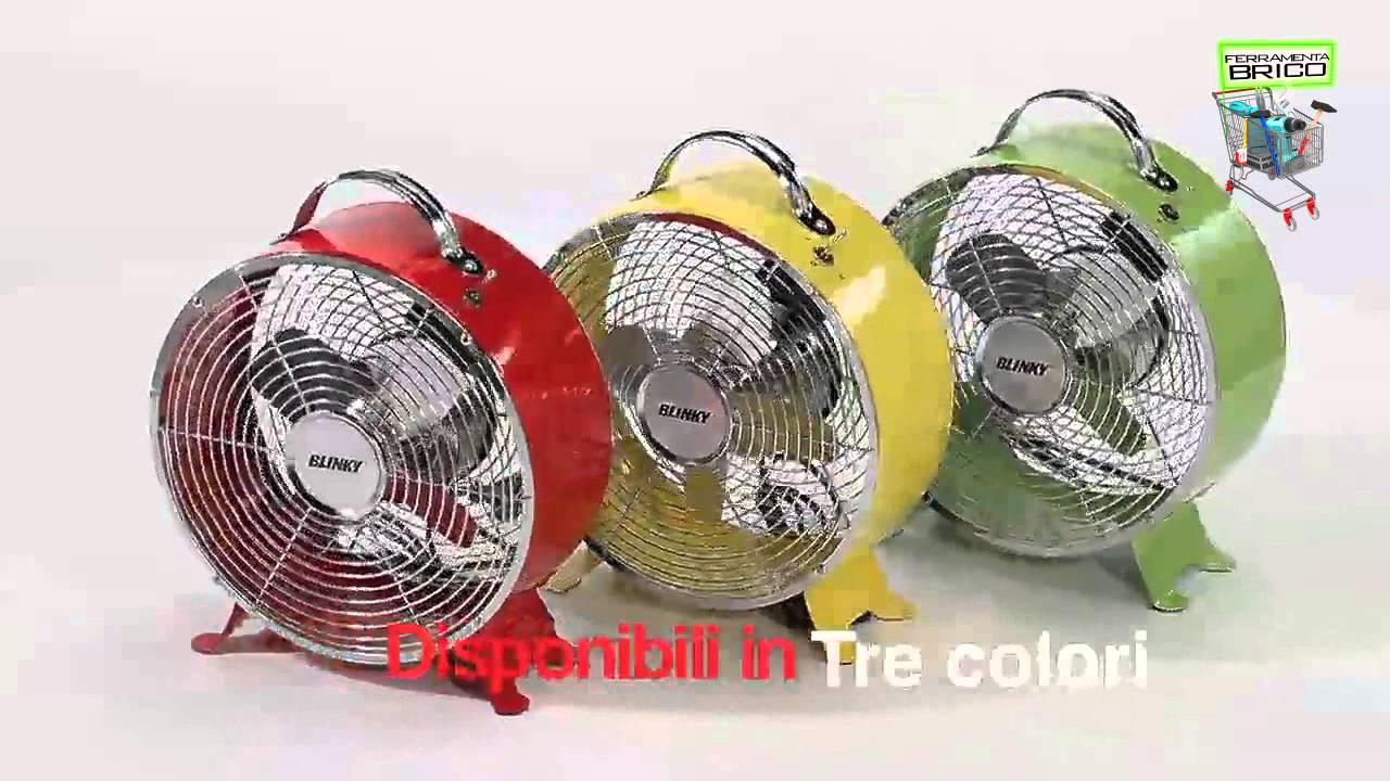 Ventilatore da tavolo blinky giove youtube