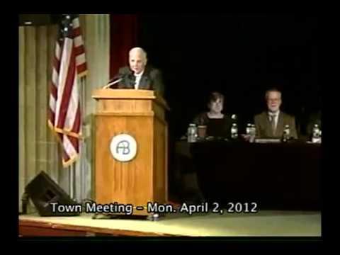Town Meeting - April 2, 2012
