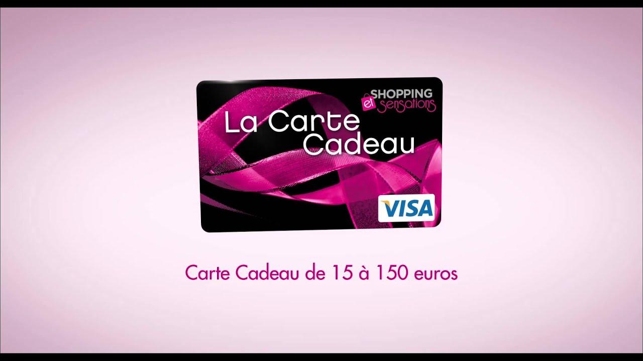 carte cadeau carre senart La Carte Cadeau de Carré Sénart   YouTube