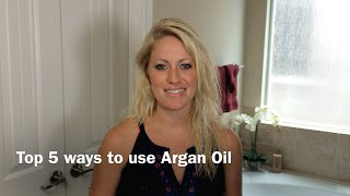 A demonstration of top five ways to use Argan Oil (Moroccan Oil) Thumbnail