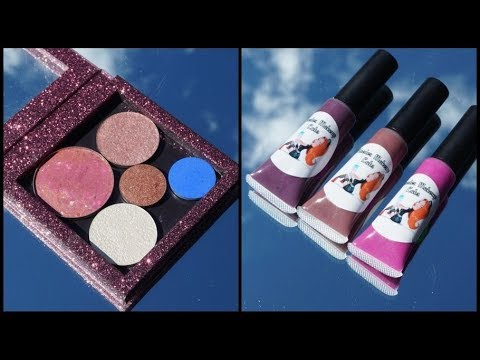 Indie Beauty Haul - Maeder Makeup Labs  - Little bit of everything with swatches