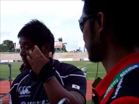 Captains for Tonga A and Japan Junior interview